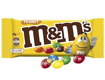 M&M'S PEANUT SINGLE 46G