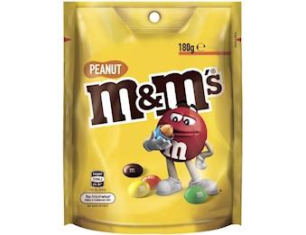 M&M'S PEANUT LARGE BAG 180G