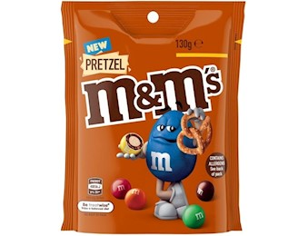 M&M'S PRETZEL L/BAG 130G