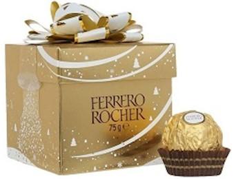 FERRERO ROCHER T6 CUBE 75G