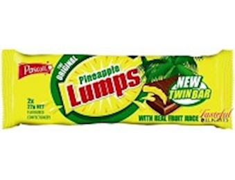 PASCALL PINEAPPLE LUMPS BARS (22G X 2)