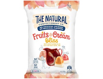 The Natural Confectionery Co FRUIT& CREAM BLISS 200G