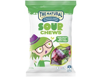 The Natural Confectionery Co SOUR CHEWS 220G