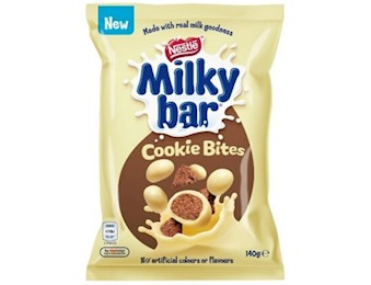 NESTLE MILKEYBAR COOKIE BITE 140G