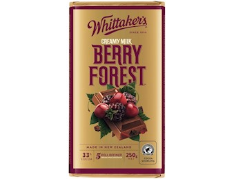 WHITTAKERS BERRY FOREST Block 250G
