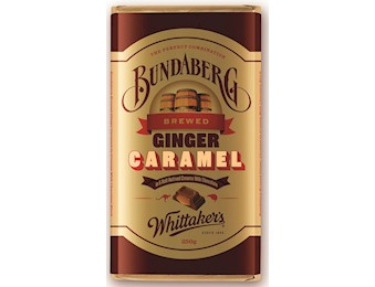 WHITTAKERS BUNDABERG GINGER CREAMY MILK 250G