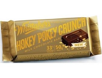 WHITTAKERS HOKEY POKEY SLAB 50G