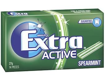 EX ACTIVE SPEARMINT 27G