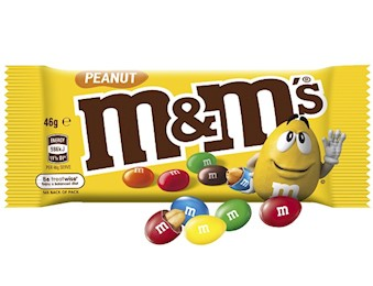 M&M'S PEANUT SINGLE 46G