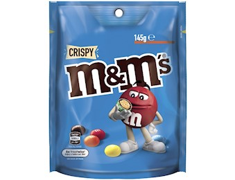 M&M'S CRISPY LARGE BAG 145G