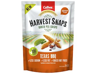 HARVEST SNAPS TEXAS BBQ 93g