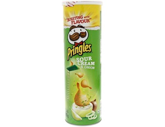 PRINGLES SCREAM & ONION 165G