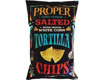 PROPER TORTILLA SALTED  CHIPS 170