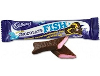 CADBURY CHOCOLATE FISH WRAPPED 20G