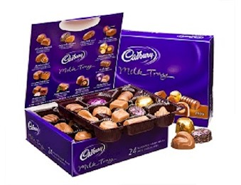CADBURY MILK TRAY 420G