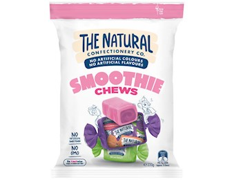 The Natural Confectionery Co SMOOTHIE CHEWS 220G