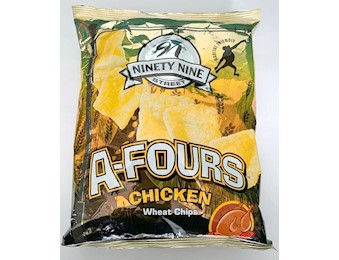 NNS A-FOURS CHICKEN CHIPS 80G