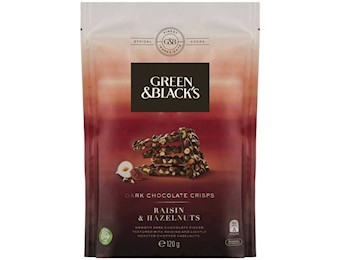 CADBURY G&B DARK Chocolate CRISPS R&H 120G