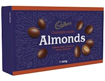 CADBURY SCORCHED ALMOND 225G