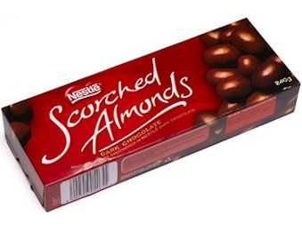 NESTLE SCORCHED ALMOND 250G