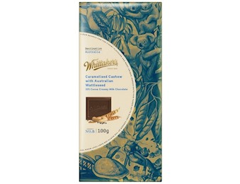 WHITTAKERS DEST CARAMELISED CASHEW 100G