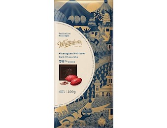 WHITTAKERS DESTIN DARK Chocolate NICA HEI 100G