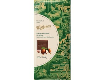 WHITTAKERS DESTIN ITALIN HAZELNUT 100G
