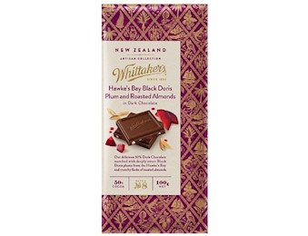 WHITTAKERS HBAY Block DORIS &ROST AL 100G