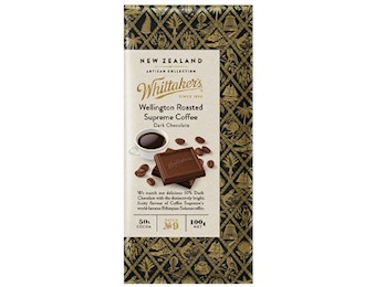 WHITTAKERS WELLINGTON ROAST COFFEE 100G