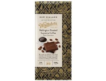 WHITTAKERS WELLINGTON ROAST COFFEE 100G