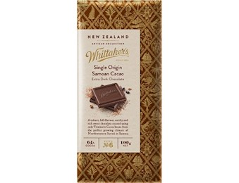 WHITTAKERS SAMOAN CACAO Block 100G