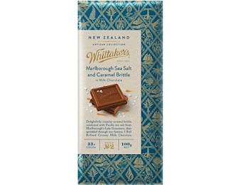 WHITTAKERS MRLB SEA SALT CAR Block 100G