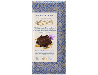 WHITTAKERS MAL SEA SALT CAR BRIT SFRON 100G