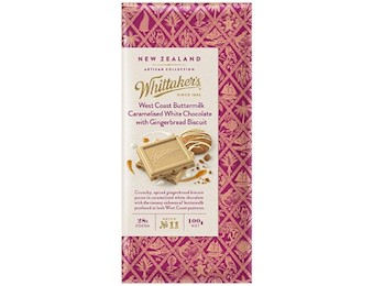 WHITTAKERS GB BMILK CARAMELISED GB 100G