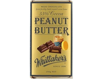 WHITTAKERS PEANUT BUTTER BLOCK 250G