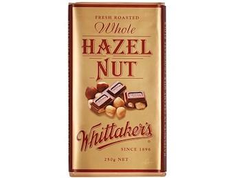 WHITTAKERS HAZEL NUT BLOCK 250G