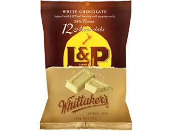 WHITTAKERS L & P  MINI SLAB  180G