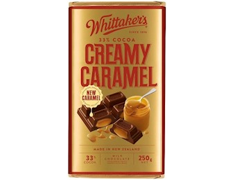 WHITTAKERS CREAMY CARAMEL Block 250G