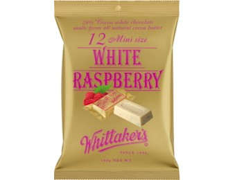 WHITTAKERS WHITTAKERSE RASPBERRY MINI 180G