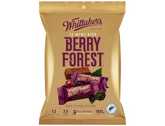 WHITTAKERS BERRY FOREST MINI SLABS 180G