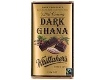 WHITTAKERS DARK GHANA 72% Block 250G