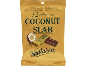 WHITTAKERS COCONUT MINI SLABS 18OG