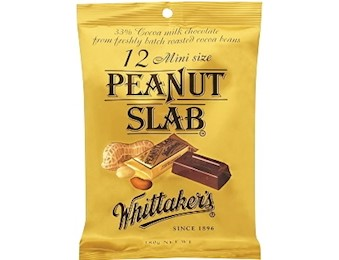 WHITTAKERS PEANUT MINI SLABS 18OG