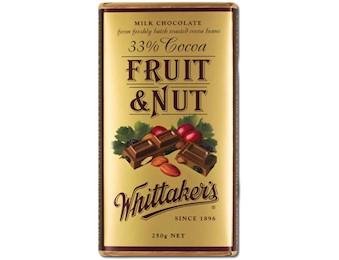 WHITTAKERS FRUIT & NUT BLOCK 250G