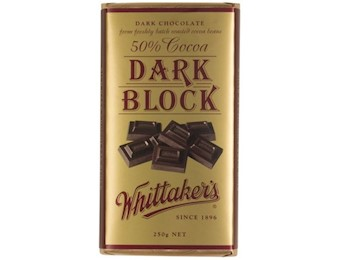 WHITTAKERS DARK BLOCK(BSWEET) 250G