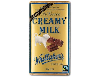 WHITTAKERS CREAMY MILK BLOCK 250G