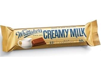 WHITTAKERS CREAMY MILK CHUNKS 50G