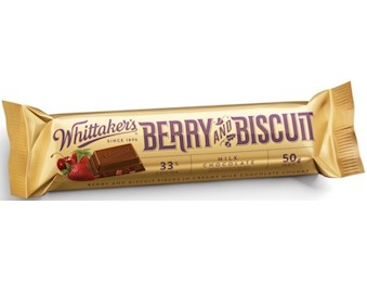 WHITTAKERS BERRY&BISCUIT CHUNKS 50G