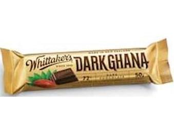 WHITTAKERS DARK GHANA 72% CHUNKS 50G