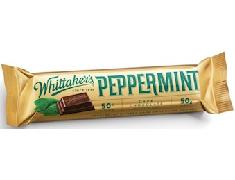 WHITTAKERS PEPPERMINT CHUNKS 50G